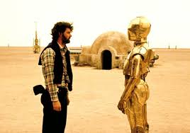 C3PO  and George